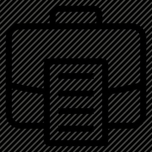 bag, breafcase, breifcase, businessbriefcase, case, luggage, portfolio icon