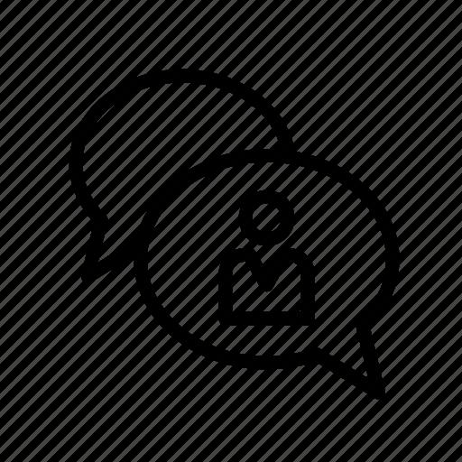 bubble, chat, conversation, inbox, message icon
