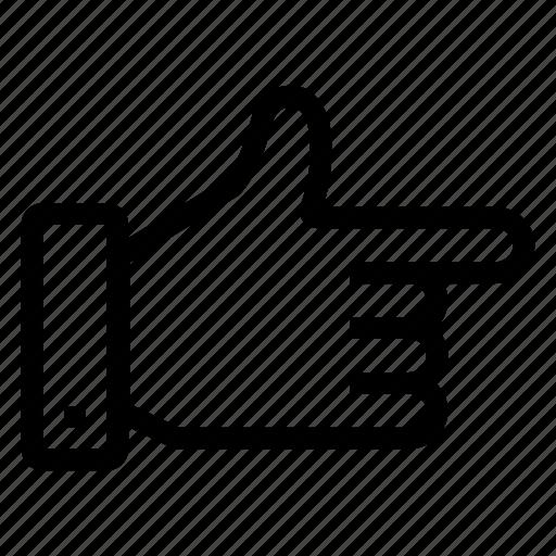 arrow, direction, gesture, hand, navigation icon