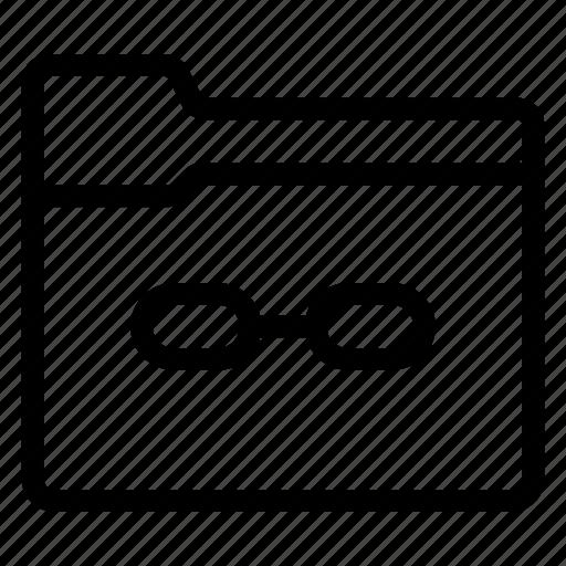 binder, data, document, file, files, folder, link icon