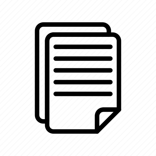 archive, document, files, paper, sheet icon
