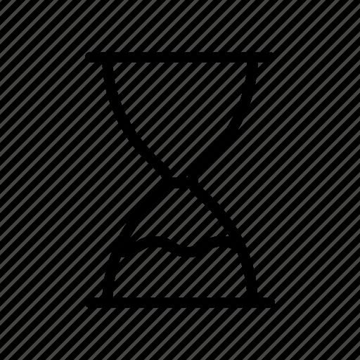 deadline, hourglass, sand, stopwatch, timer icon