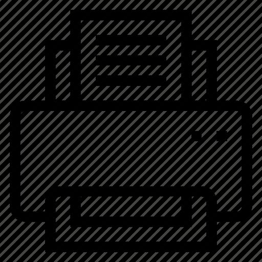 cmyk, computer, copier, officeprinter, paper, printer, printingpress icon