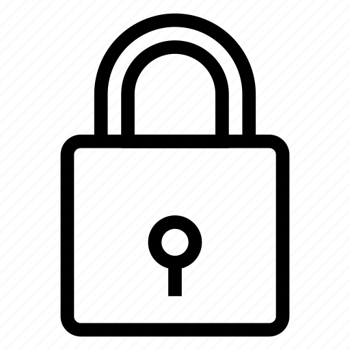 doorlock, lock, padlock, password, protection, secure, security icon