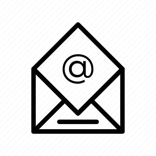 communication, latter, mail, message, open icon
