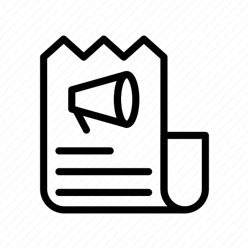 archive, document, file, receipt, sheet icon