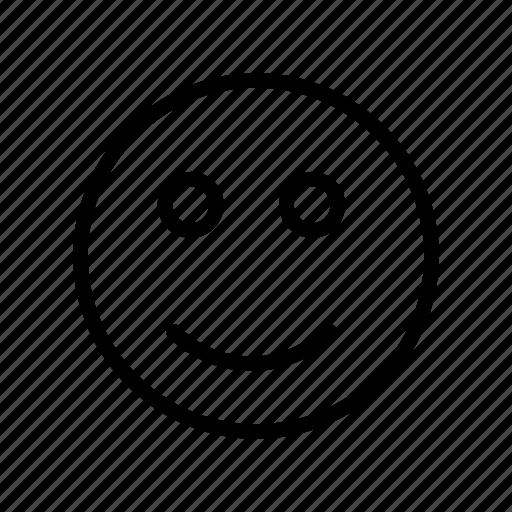 emoji, expression, face, happy, smile icon