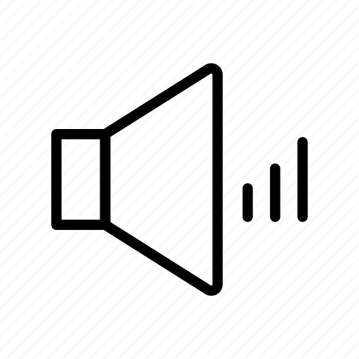 ads, announcement, sound, speaker, volume icon