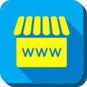 ecommerce, internet shop, online store, web shop, webshop, website, webstore icon