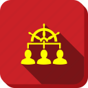 business, customers, people, staff, team, user management, users icon