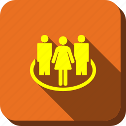 company, men, people, social community, social network, user group, users icon
