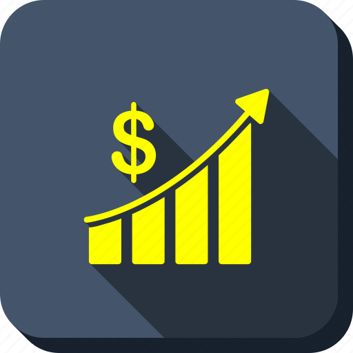 analytics, bar chart, business, graph, sales, statistics, trend icon