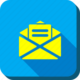 email, envelope, letter, mail, message, open male, post icon