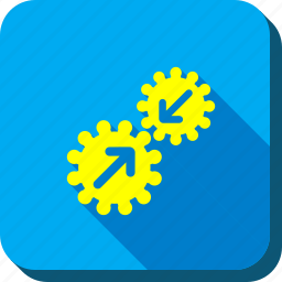 configuration, connect, gears integration, options, settings, system, tools icon