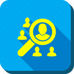 find user, man, people, person, search, view, zoom icon
