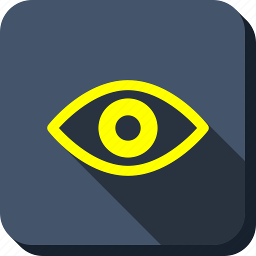 eye, eyeball, look, see, view, vision, zoom icon