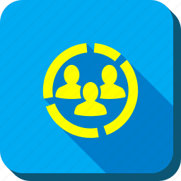 company, customers diagram, people, social network, team, user group, users icon
