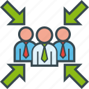 group, meeting, point, team, teamwork icon