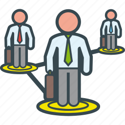 connection, group, network, networking, people, working icon