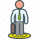 business, executive, job, man, selection icon