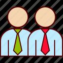 associate, business, partner, shareholder, sidekick icon