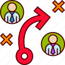 business, management, people, plan, planning, strategy icon