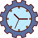 clock, job, labor, occupation, time, work, worker