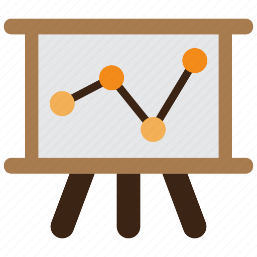 analysis, analytics, diagram, graph, loss, revenue, statistics icon