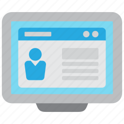 cv, document, job, jobs, online, profile, resume icon