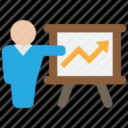 diagram, educate, education, learning, train, training icon
