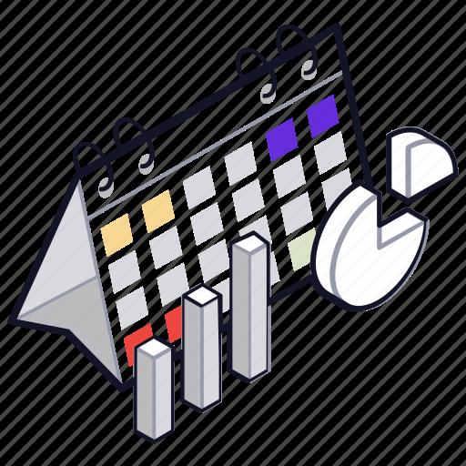 analytics, project deadline, project plan, project schedule, project schedule work schedule icon