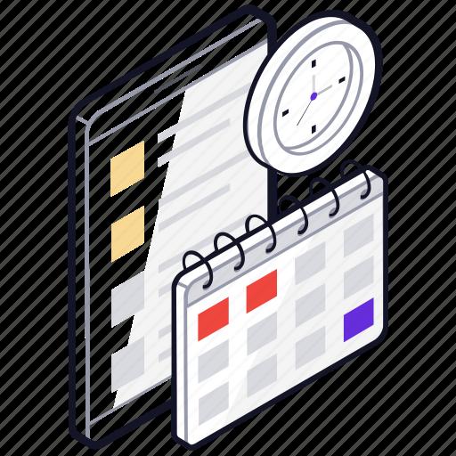 calendar planning, deadline, panning schedule, project planning, project schedule, task planning, time management icon