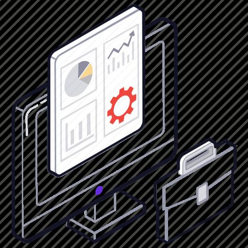 business analytics, business management, program management, project management, project planning icon