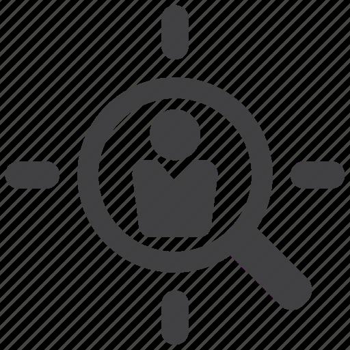 aim, bullseye, customer, goal, marketing, niche, target icon