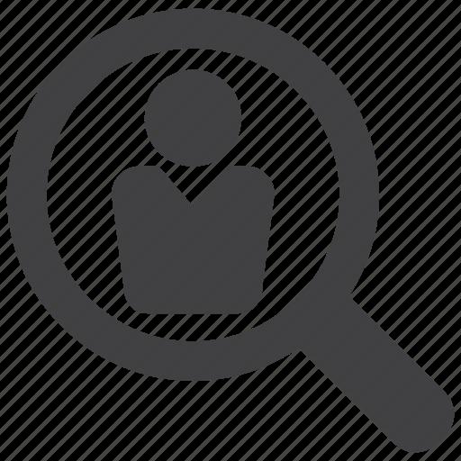 aim, customer, magnifier, market, marketing, niche, target icon