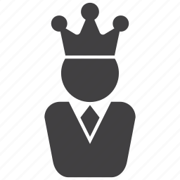 chef, crown, king, manager, power, royal, winner icon