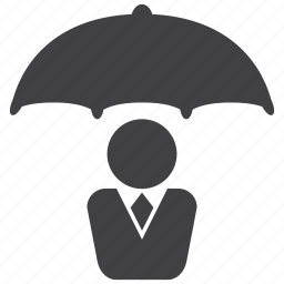 bribe, embezzle, protection, protector, security, shield, umbrella icon
