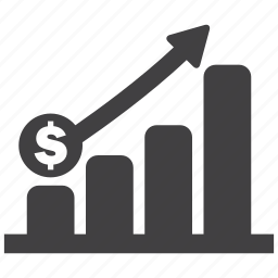 chart, finance, graph, money, profit, revenue, sales icon