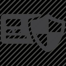 atm, card, cash, money, payment, secure, security icon