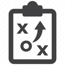 business, chess, game, paper, plan, strategy, tactics icon