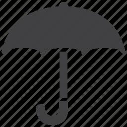 forecast, parasol, protection, rain, sun, umbrella, weather icon