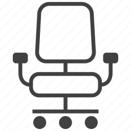 business, chair, furniture, interior, office, seat icon