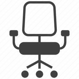 chair, chief, furniture, interior, manager, office, seat icon