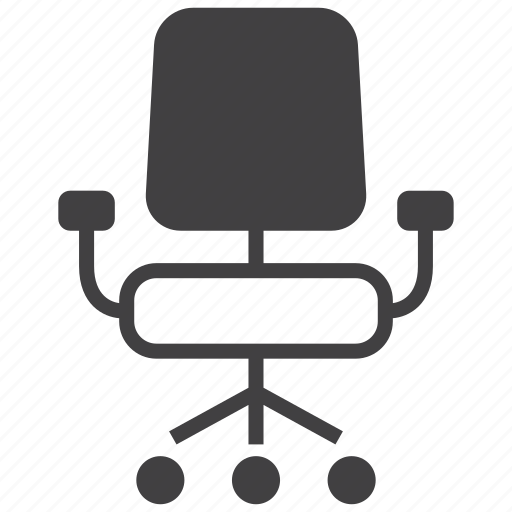 business, chair, desk, furniture, interior, office, seat icon