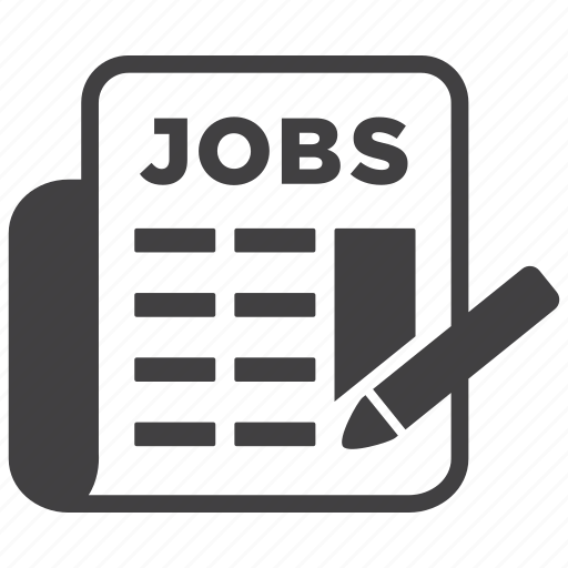 advertise, advertisement, business, job, jobs, newspaper, vacancy icon