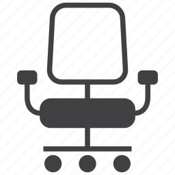 business, chair, chief, furniture, office, seat, table icon