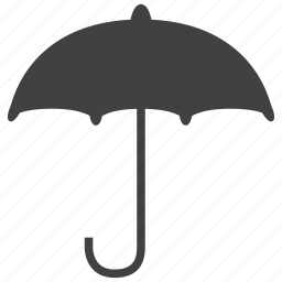 forecast, insurance, protection, rain, security, umbrella, weather icon