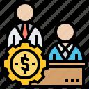 customer, market, seller, supplier, vendor