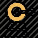 aim, arrow, business, strategy, target