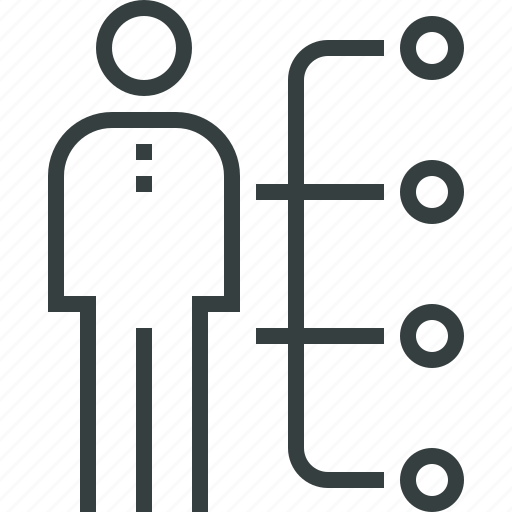 abilities, employee, human, man, people, skills, user icon